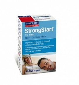Lamberts Strongstart for Men 30 caps - 30 tabs