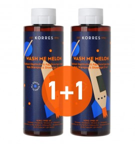 Korres Wash Me Melon Shampoo 250ml 1+1