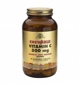 Solgar Vitamin C 500mg Chewable tabs 90s
