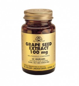 Solgar Grape Seed Extract 100mg veg.caps 30s