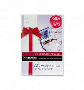 Neutrogena Anti-ageing Hand Cream 50ml & Nourishing Lipcare with Nordic Berry 4.8g