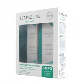 Terproline Face Cream 50 ml &  Eyes & Lips 15 ml