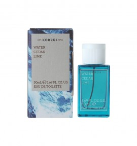 Korres Eau De Toilette Water/ Cedar/ Lime 50ml