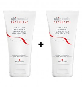 Skincode Cellular Total Shape Control 150ml 1+1 Gift Pack