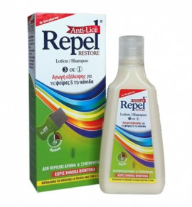 Repel Anti-Lice Restore Lotion/Shampoo 3 σε 1 200g