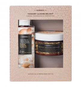 Korres Promo Yoghurt Almond Showergel 250ml & Firming Body Butter 200ml