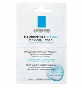 La Roche-Posay Hydraphase Intense Masque Sachets 2x6ml