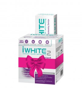 iWhite 2 Instant Μασελάκια λεύκανσης 10τμχ & Toothpaste 75ml
