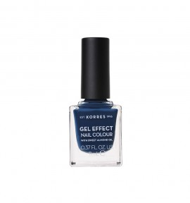 Korres Gel Effect Nail Colour 84 Indigo Blue 11ml