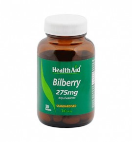 Health Aid Bilberry 275mg 30tabs