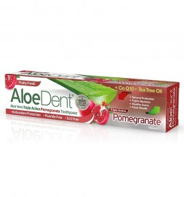 Aloe Dent Triple Action Pomegranate Toothpaste 100ml