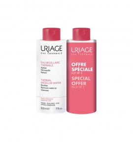 Uriage Eau Micellaire Thermale Sensitive Skin 500ml, 2τμχ