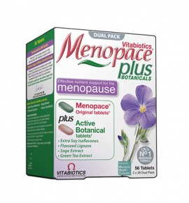 Vitabiotics Menopace Plus 56tabs (28 Original + 28 Active Botanical)