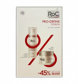 Roc Pro-Define Πλούσιας Υφής 50ml & Pro-Define Anti-Sagging Firming Concentrate 50ml