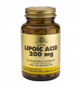 Solgar Alpha Lipoic Acid 200mg veg.caps 50s