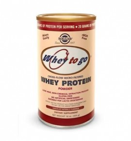 Solgar Whey to Go Protein Powder Σοκολάτα 1162g