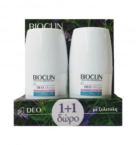 Bioclin Deo Allergy Roll-On 50ml 1+1
