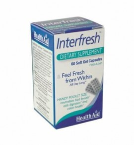 Health Aid Inter fresh™ Breath Fresh 60 caps