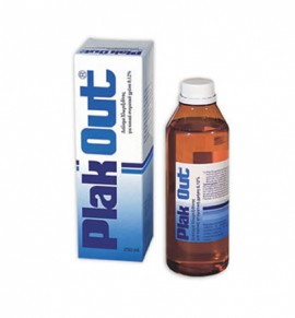 Plak Out Solution 0,12% 250ml