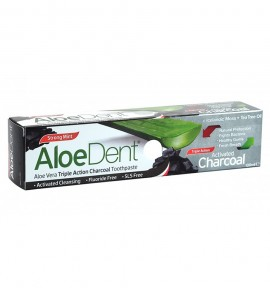 Aloe Dent Triple Action Activated Charcoal Toothpaste 100ml