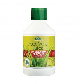 Optima Aloe Vera Juice with Cranberry Flavour 500ml