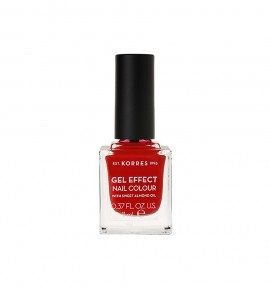 Korres Gel Effect Nail Colour 53 Royal Red 11ml