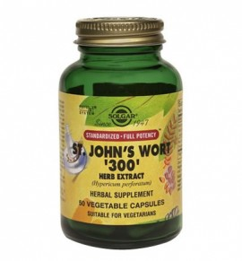 Solgar St. Johns Wort Herb Extract 300mg veg.caps 50s