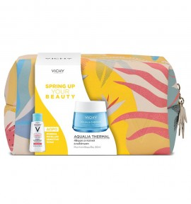 Vichy Promo Aqualia Thermal Rehydrating Cream-Gel 50ml & Purete Thermale Mineral Micellar Water (Sensitive Skin) 100ml