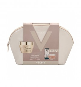 Vichy Pouch Neovadiol Magistral 50ml & Double Glow Peel Mask 15ml & Mineral 89 5ml
