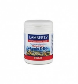 Lamberts VITAMIN E 400iu Natural 60 caps