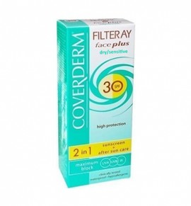 Coverderm Filteray Face Plus Dry/Sensitive SPF30 50ml