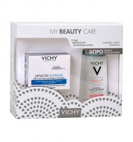 Vichy Promo Liftactiv Supreme Κανονικές/Μικτές Επιδερμίδες 50ml & Purete Thermale Mineral Micellar Water (Sensitive Skin) 100ml