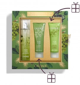 Caudalie Fleur De Vigne Fresh Fragrance 50ml & Showergel 50ml & Nourishing Body Lotion 50ml
