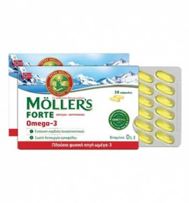 Mollers Forte Omega-3 30caps