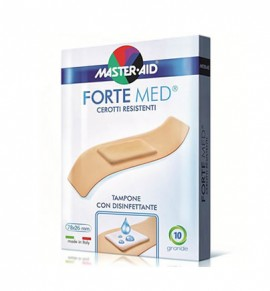 Master Aid Forte Med 10 Strips 78x26mm
