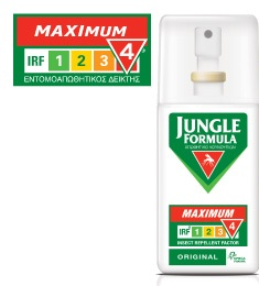 Jungle Formula Maximum Original με IRF 4, 75ml