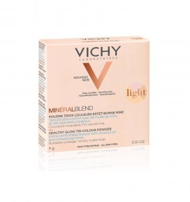 Vichy MineralBlend Healthy Glow Tri-Color Powder Light 9g