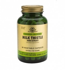 Solgar Milk Thistle Herb & Seed Extract veg.caps 60s