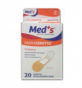 Meds Farmacerrotto 20 Strips Classic 19x72mm (8000246003782)