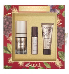 Caudalie Premier Cru Eye Cream 15ml & The Serum 10ml & The Cream 15ml