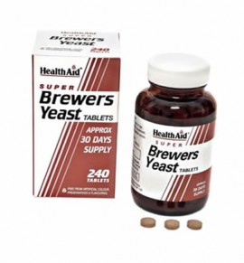 Health Aid Brewers Yeast ( Μαγιά Μπύρας) 240 tabs