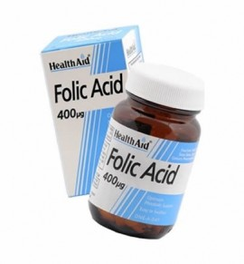 Health Aid Folic Acid 400μg 90tabs