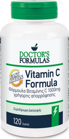 Doctors Formulas Vitamin C 1000mg Fast Action 120tabs