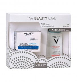 Vichy Promo Liftactiv Supreme Ξηρές Επιδερμίδες 50ml & Purete Thermale Mineral Micellar Water (Sensitive Skin) 100ml