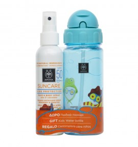 Apivita Kids Suncare Face & Body Spray SPF50 50ml & Δώρο Παιδικό Παγούρι