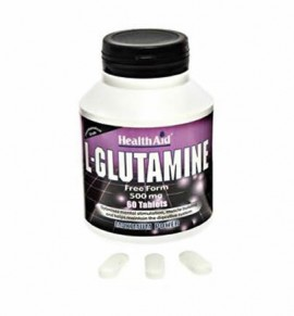Health Aid L-Glutamine 500mg 60 tabs