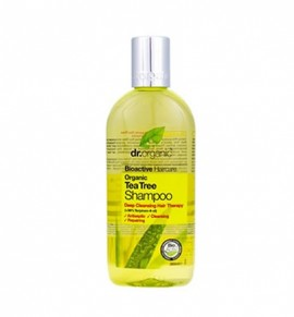 Dr.Organic Tea Tree Shampoo 265ml