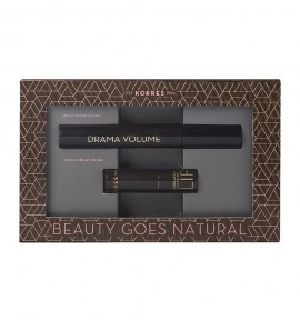 Korres Promo Drama Volume Mascara 01 Black 11ml & Morello Creamy Lipstick 23 Natural Purple 3.5gr
