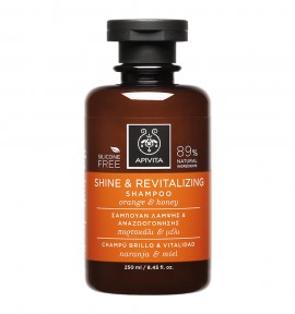 Apivita Holistic Hair Care Shine & Revitalizing Shampoo 250ml