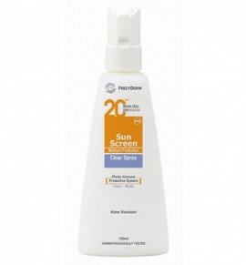 Frezyderm Sun Screen Clear Spray SPF 20/ UVA 150 ml